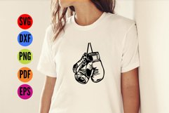 Boxing Gloves SVG Cutting File  Product Image 2