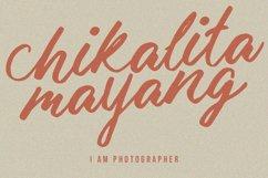 Malika Brush Script Typeface Product Image 6