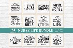 24 Nurse Life svg bundle - nurse shirt svg bundle Product Image 3