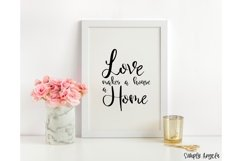 Home Sweet Home - a smooth handwritten script font Product Image 4