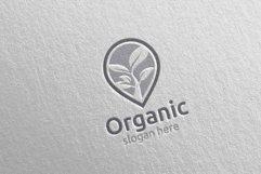 Pin Locator Natural and Organic Logo design template 6 Product Image 5