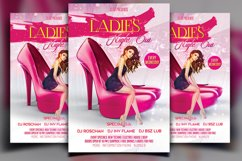 Ladies Night Party Flyer Product Image 1