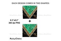Marble 20oz Skinny Tumbler Sublimation Design PNG Product Image 3