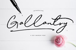 Gallantry Dry Marker Font Product Image 1