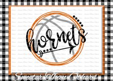 Basketball SVG, Hornets svg, Hornets Basketball svg Product Image 1