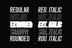 Singo | Sans Display Font Product Image 4