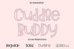 Cuddle Buddy A cute playful Font Product Image 2