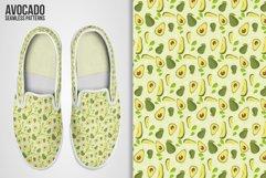 Avocado Seamless Patterns Product Image 5