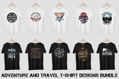 Adventure and Travel T-Shirt Designs Bundle Vol. 1 Product Image 1