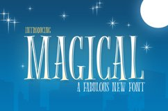 Magical Font Product Image 1