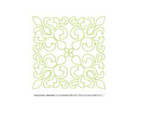 Quilt Block Stipple 13 - Machine Embroidery Design in 3 size Product Image 3