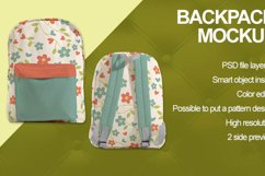 Backpack Mockup Product Image 2