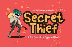 Secret Thief - A Cute Sans Font Product Image 1