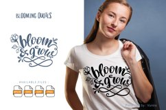 Bloom & Grow | Lettering Quotes Product Image 1