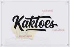 Kaktoes Script Font Product Image 2