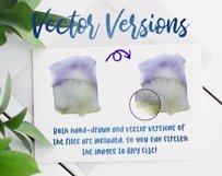 Watercolor Splash Clip Art, Vector Watercolor Backgrounds! Product Image 6