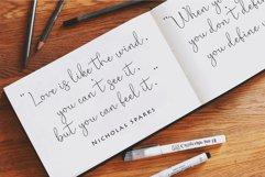 Bella bellia-Handwritten script font Product Image 6