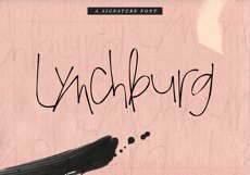 Lynchburg - Messy Handwritten Font Product Image 1