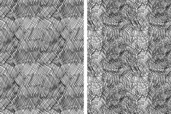 Set of 8 ink strokes effect patterns Product Image 2
