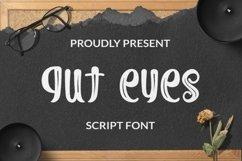 Web Font Gut Eyes Script Product Image 1