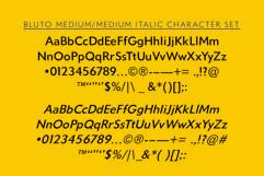 Bluto   Sans Serif Type Family Product Image 3