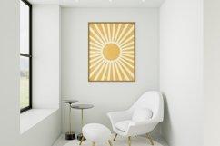 Boho Sun Print Wall Art , Printable Wall Art, Printable Art Product Image 2