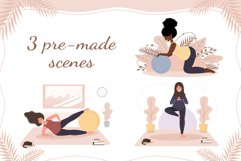 PREGNANT YOGA vector bundle Product Image 5
