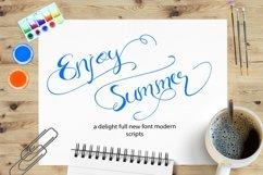 Web Font Enjoy Summer Product Image 1