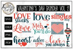 Valentine's Day Bundle Vol 2 | 10 Sublimation or SVG Designs Product Image 1