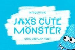 Web Font Jaxs Cute Monster Font Product Image 1