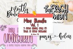 Mini Bundle Vol. 1 // 5 Families Font Only $5 Product Image 1
