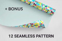 Neon geometric shape,poster,patten Product Image 3