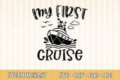 My first cruise SVG cut file Product Image 1