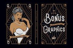 Black Queen font & bonus graphics Product Image 3