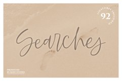Searches | Handwritten Font Product Image 1