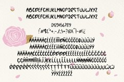 Web Font Rose Lemonade Product Image 4