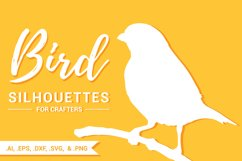 Bird Silhouettes for Crafters Product Image 1