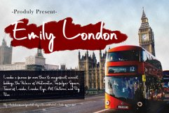Emily London Font Product Image 1