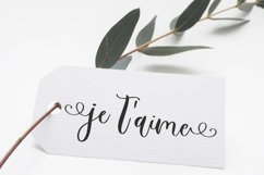 Rose Tea Script Font with swashes Product Image 2