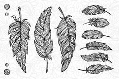 Boho feathers set Product Image 2
