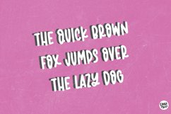 PINK TANSY Hand Lettered Display Font Product Image 4