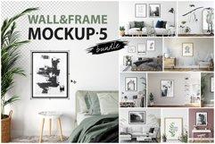 Frames & Walls Mockup Bundle - 5 Product Image 1