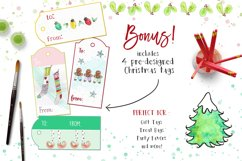 Watercolor Clip Art - Christmas, Holidays Product Image 2