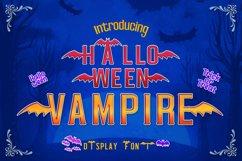 Halloween Vampire Display font Product Image 5