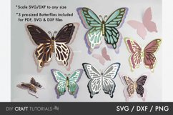 BEST SELLER - Butterfly SVG, 3D Butterfly SVG Product Image 2