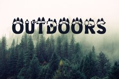 Forest Outdoors Font Product Image 6