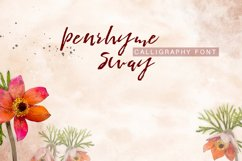 Penrhyme Calligraphy Font Product Image 5