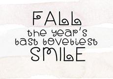 Fall Breeze - A Fun Handwritten Font Product Image 5