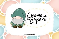Gnome clipart, gnome png, sublimation, sticker planner Product Image 1