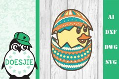 Layered Easter bundle 3d svg dxf Multi layer mandala easter Product Image 3